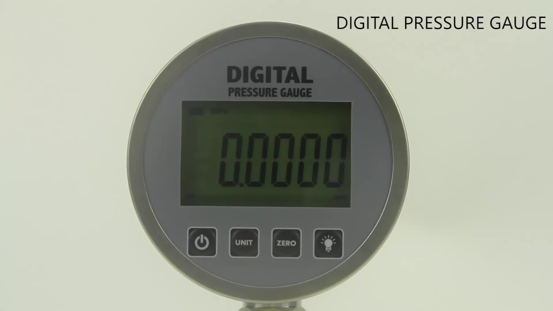 LCD differential water oil gas pressure gauge manometer