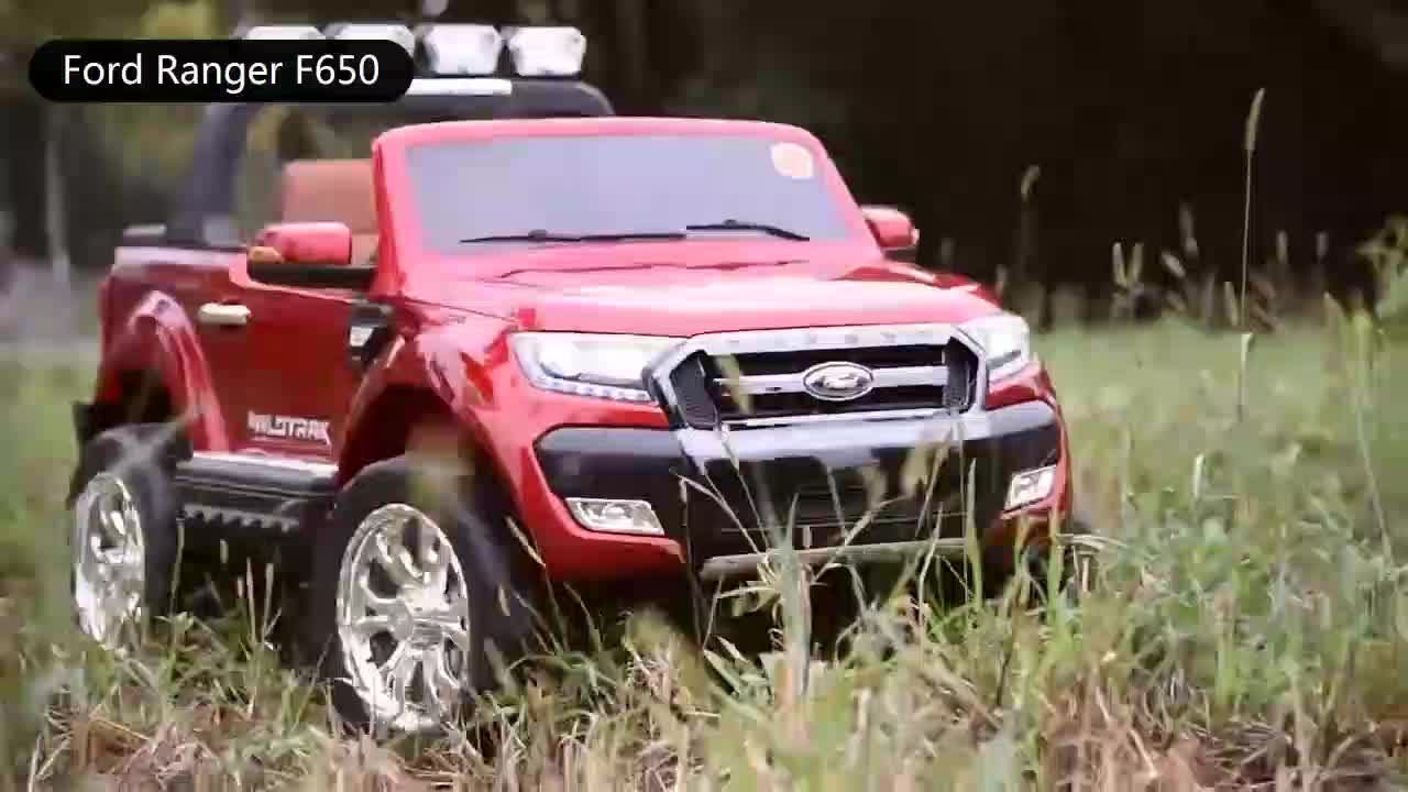 High Quality Kids Electric car  Licensed Ford Ranger 12V Powered Toy cars