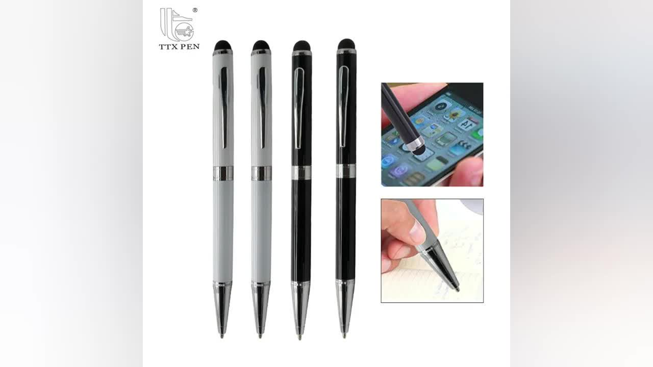 high quality multifunctional ball pen touch and active stylus pen for Mobile Phone