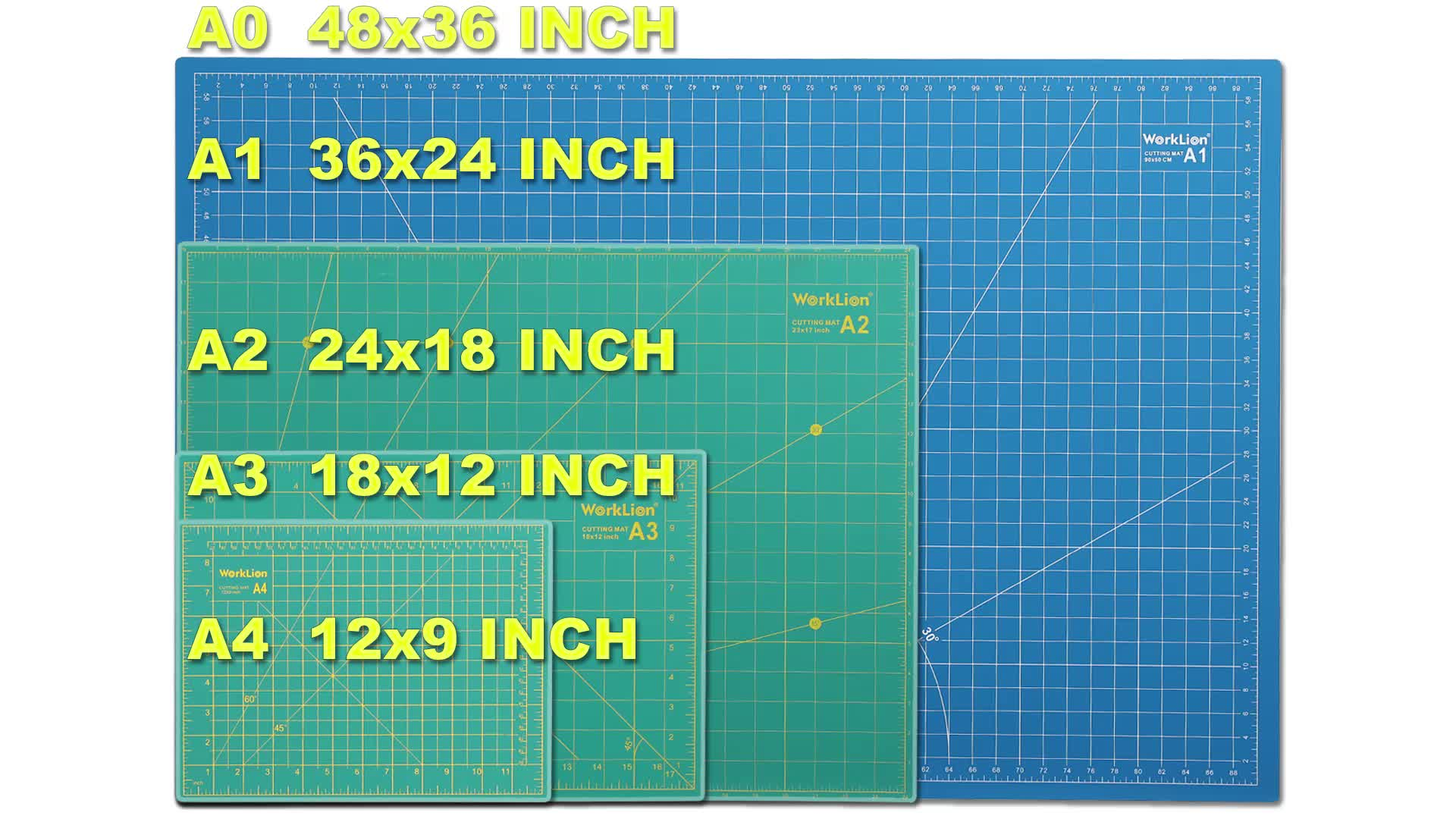 Professional  cutting mat for rotary cutter  factory produce  good price   3 layers pvc a3 cutting mat