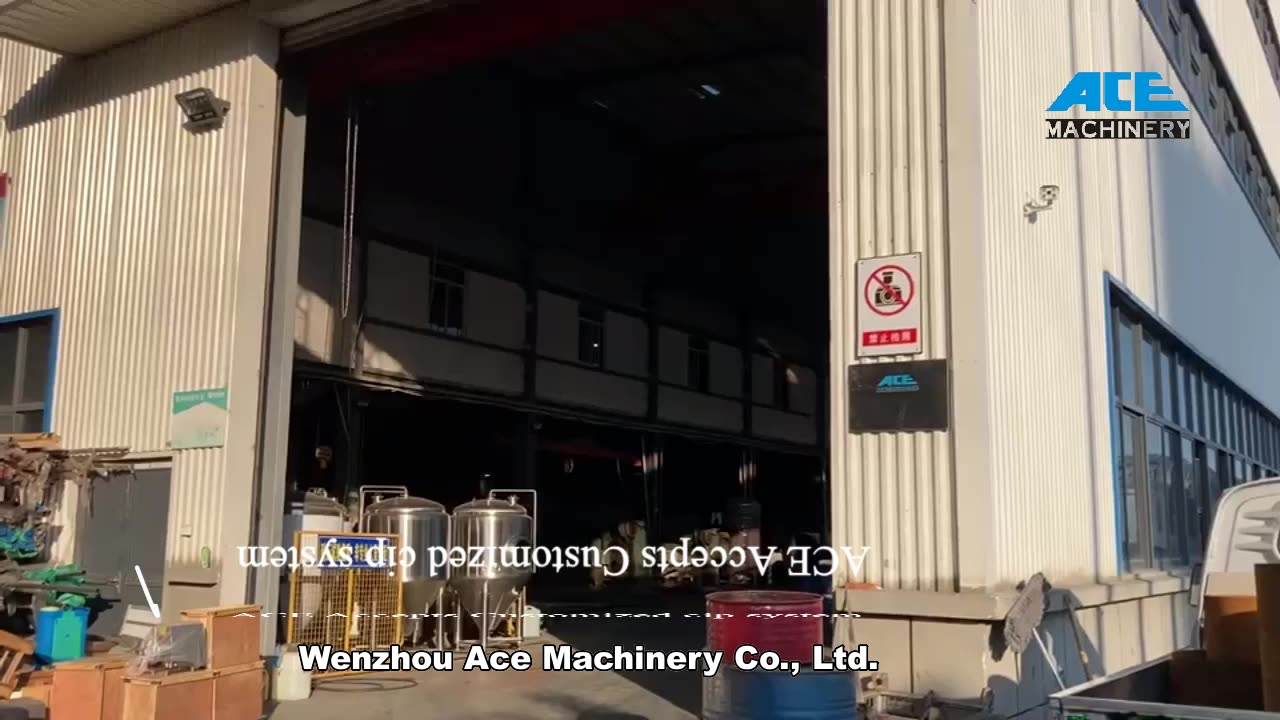 Ace Online System/Integrated Cleaning Machine/Split Type Cip Unit For Factory Price