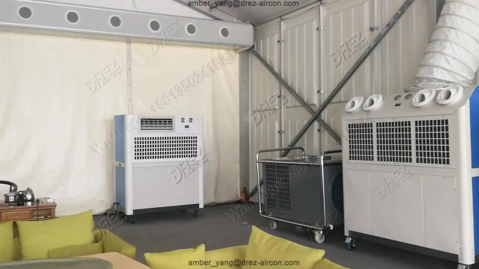 Drez Udara COND 4ton AC Outdoor Unit Cover Tenda
