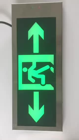 LST 116 emergency exit sign led board for evacuation