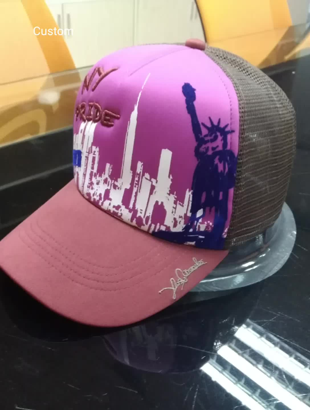 Sale Wholesale Cheap High Quality Trucker Caps With Custom Printing
