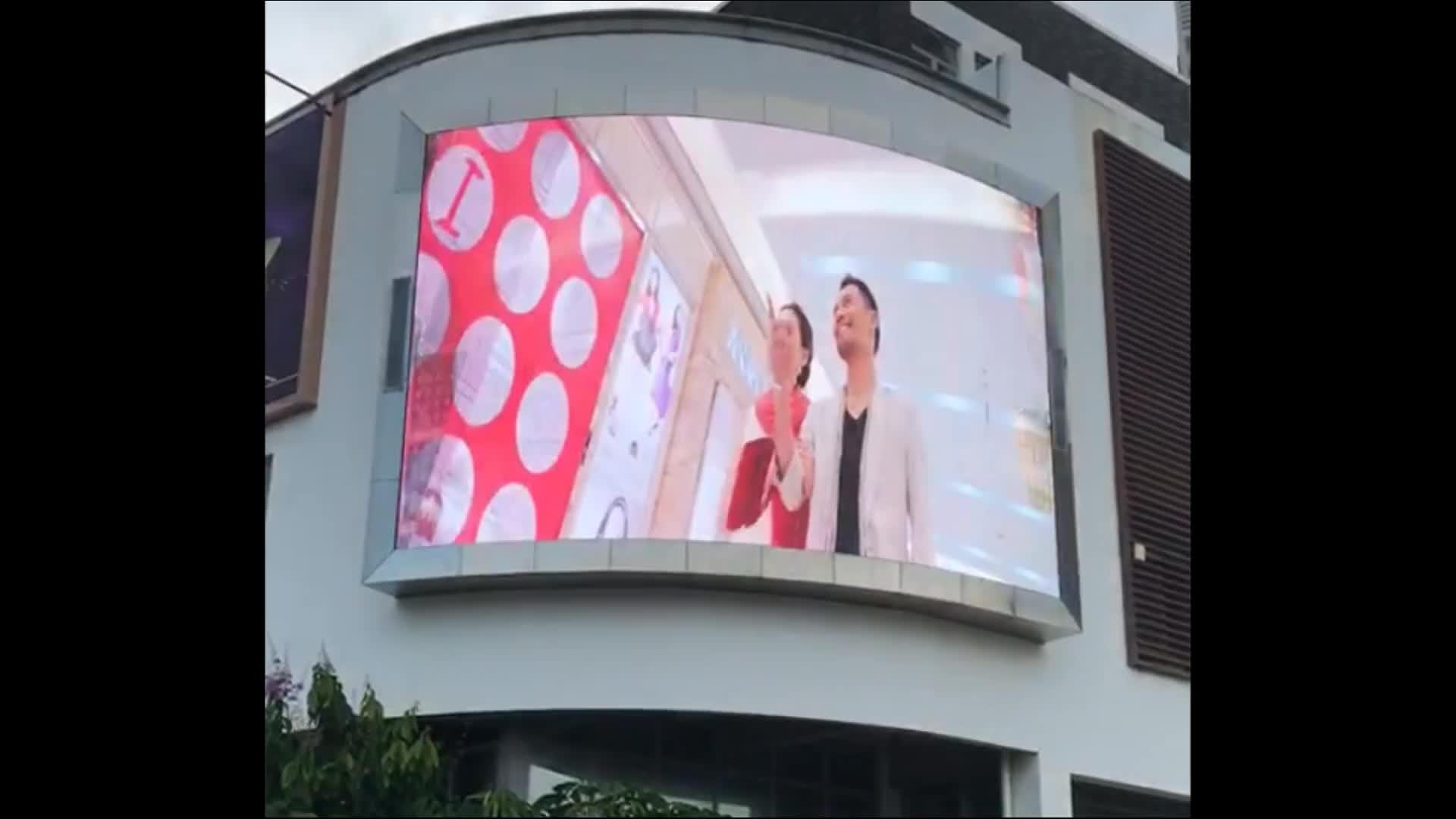 Big Outdoor Waterproof Advertising Full Color LED Display Screen
