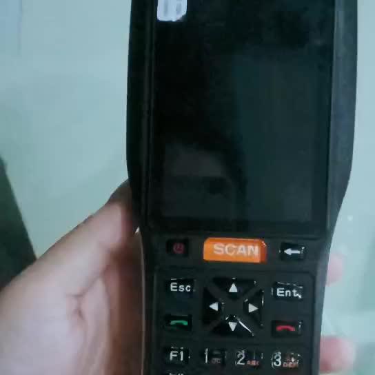 4 inç Android Kablosuz Barkod Tarayıcı Yazıcı, el PDA, Mobil Veri Terminali ZKC3506