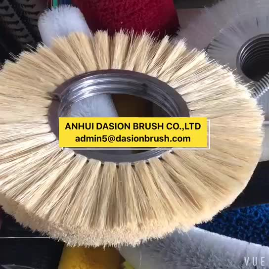 Sisal Strip Brush and Sander paper For Wood Polishing Machine