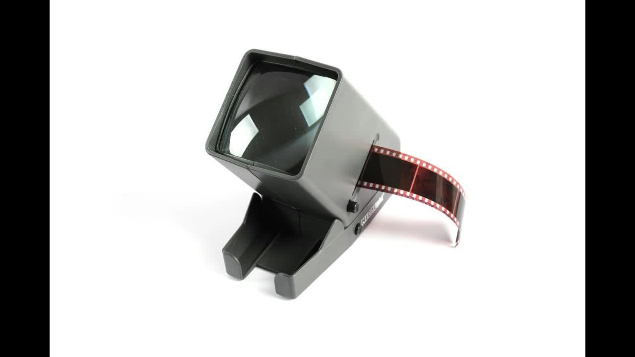 Medalight LED Lights 3x Magnification 35mm Slides and Negative Film Desktop Slide Viewer Scanner