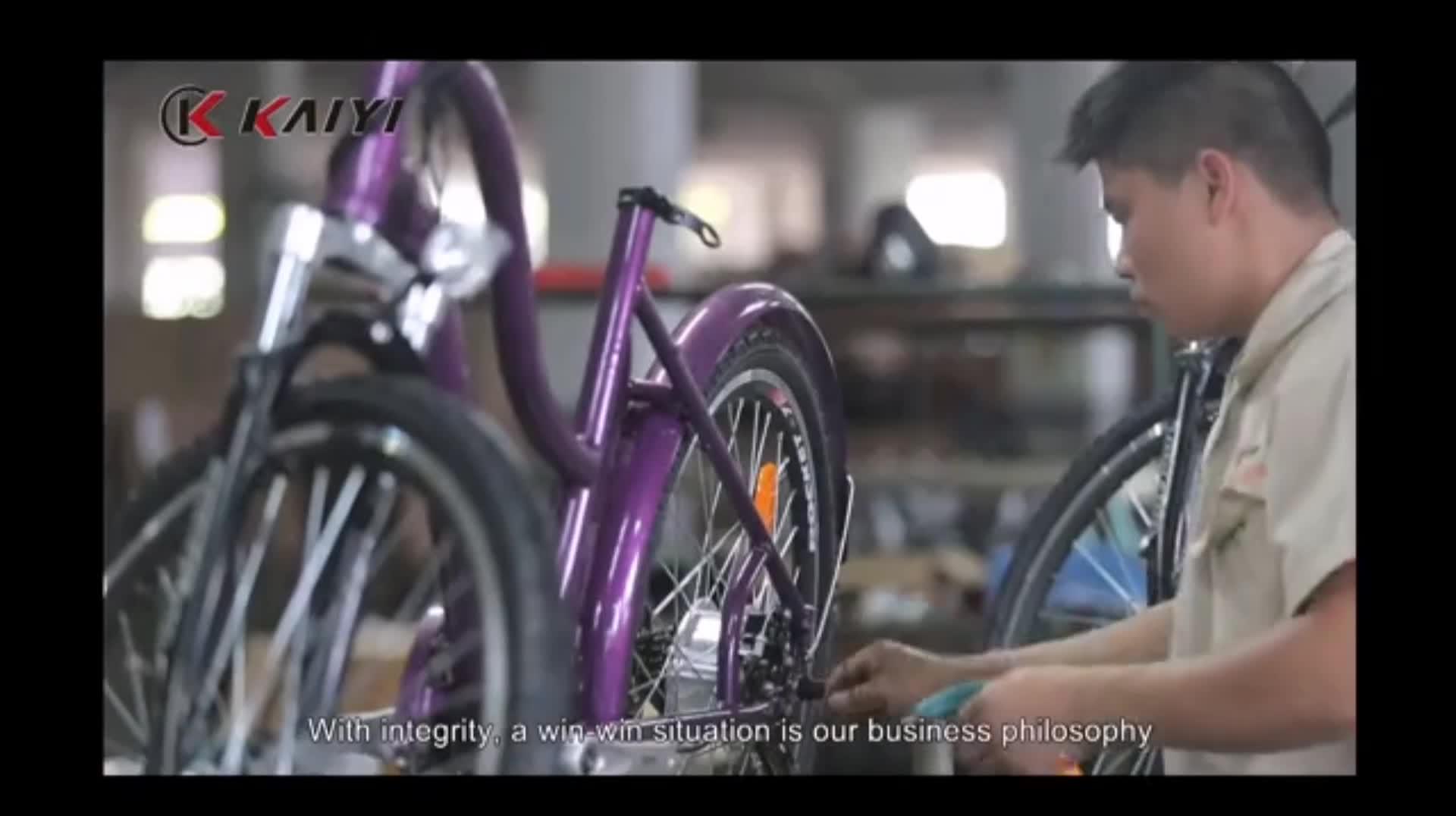 KAIYI novo certificado de fornecimento estável de montanha ebike 2 roda neve praia bicicleta gordura
