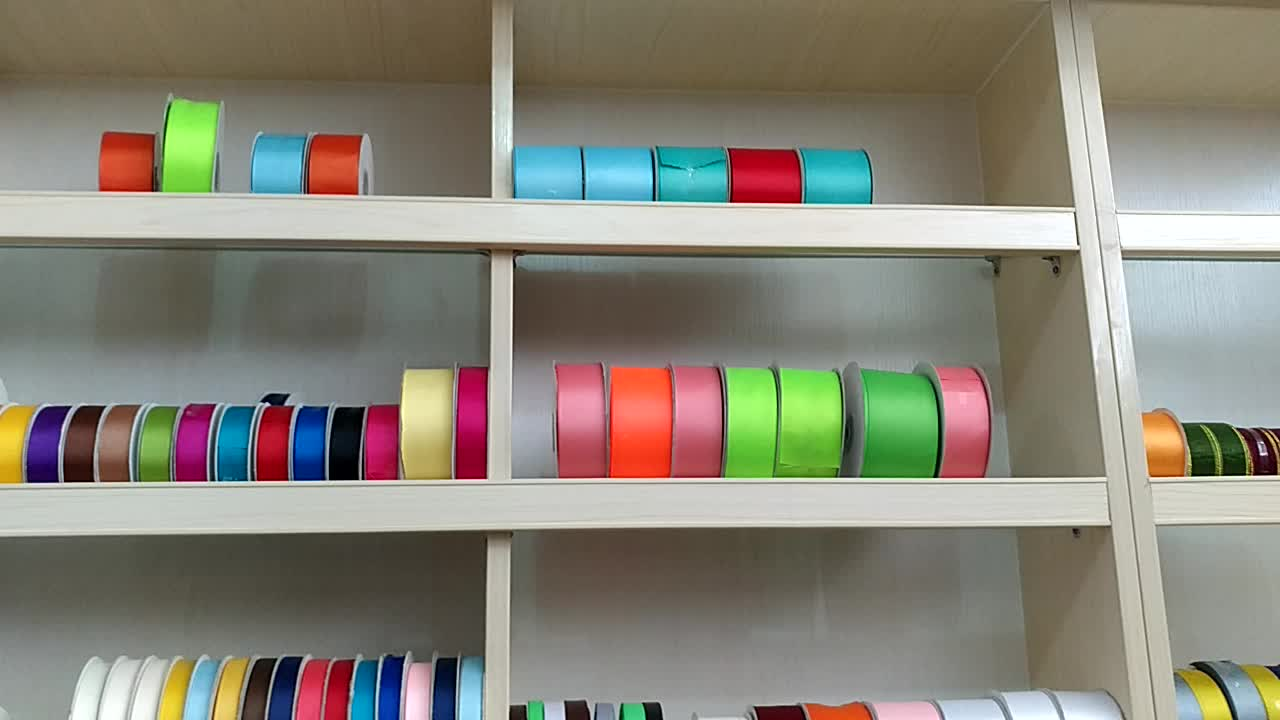 Promotion high quality christmas ribbon for gift