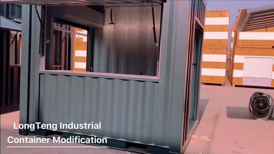 Custom Made 10ft and 20ft Shipping Container Coffee Shop Bar