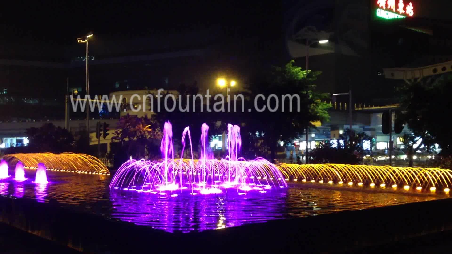 Ha condotto la Luce Colorata Cascata di Acqua Caratteristiche Per Le Piccole Giardini Paesaggistica Soluzioni