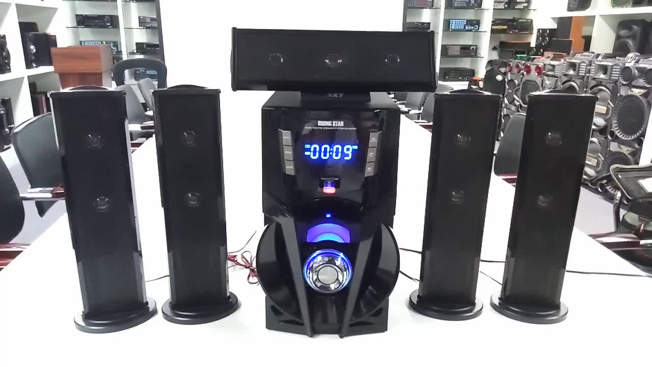 5.1 karaoke player home theater surround sound system
