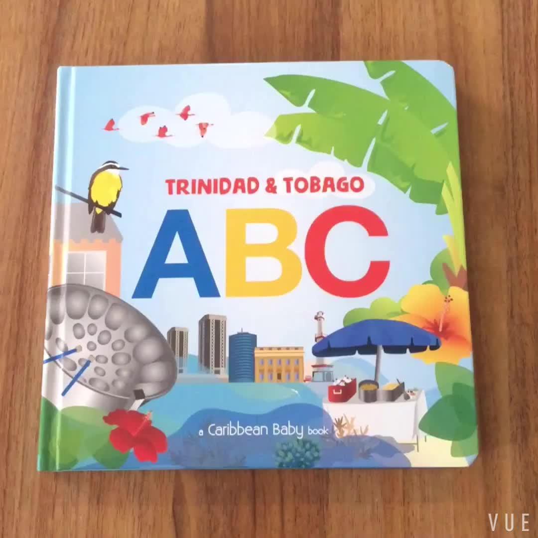 Китай дешевые оптом из картона дети книга печать детская картонная книжка