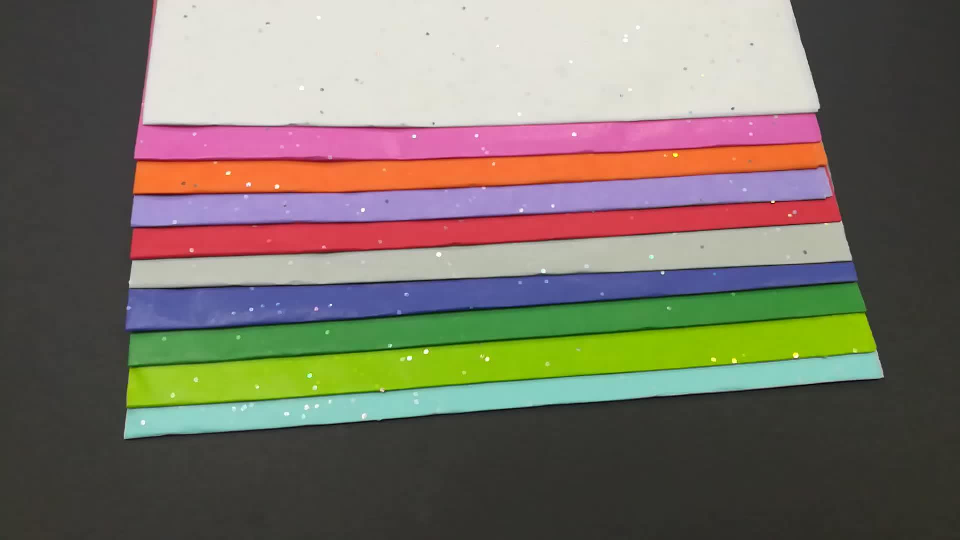 Papel de embrulho de papel de Natal de Natal de doce de palha à prova d'água