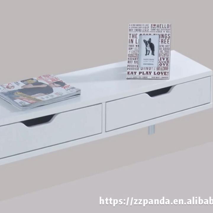 Unidades de televisión de gabinete moderno Casa de pared de muebles de soporte de tv de la unidad de pared diseños de muebles de dormitorio