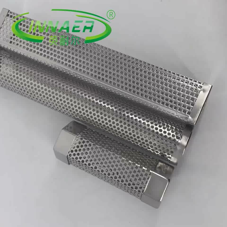 INNAER 12'' Stainless Steel BBQ Smoke pipe Generator Designed to supplement smoke in an electric smoker and grill