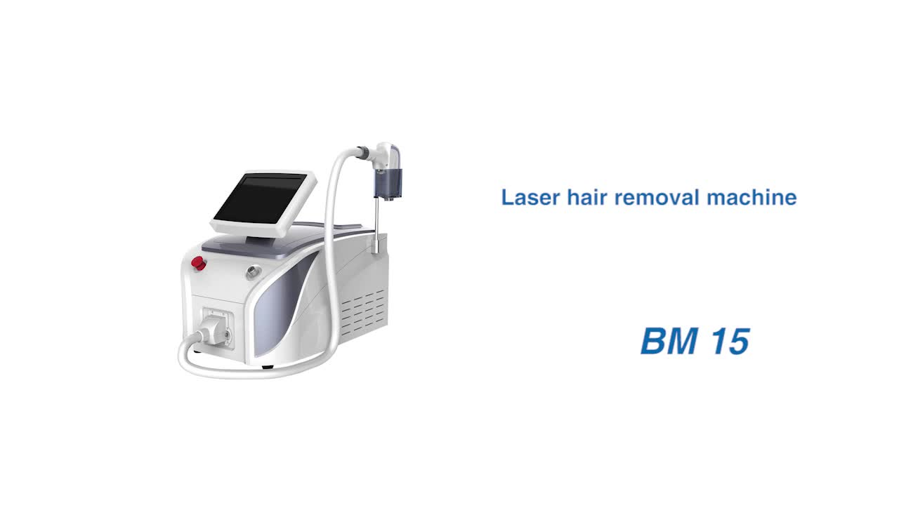 High quality 808 diode laser hair removal equipment for beauty salon