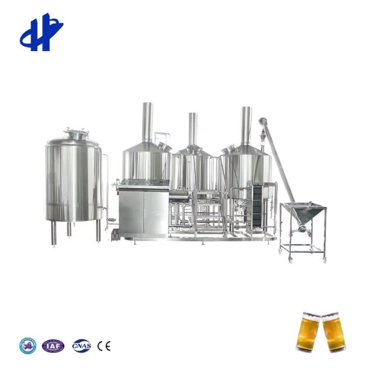 3BBL 5BBL 7BBL 10BBL 12BBL Commercial Beer Brewing Equipment Beer Making Machine for Sale