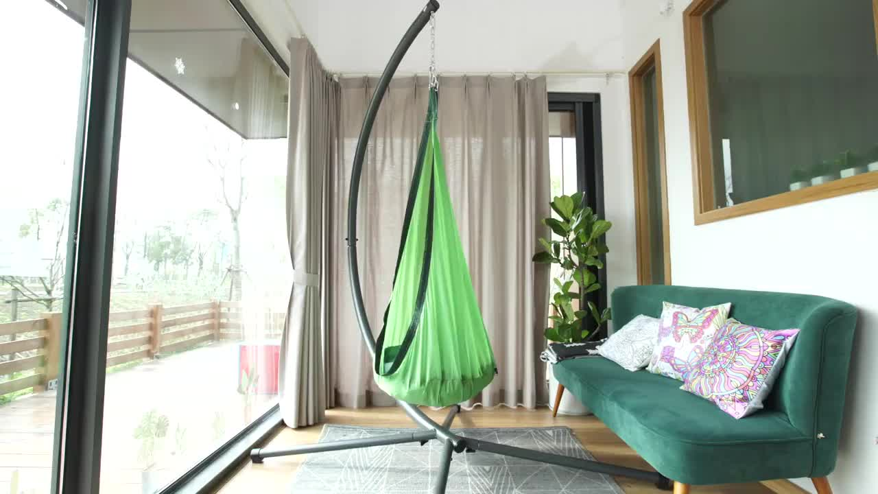 The latest design baby hanging swing chair indoor&outdoor use kids swing bed