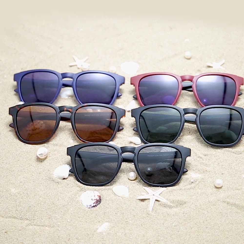 Nhà Máy Bán Buôn Du Lịch Ngoài Trời Sunglasses TR90 Eyewear Cho Nam Giới Và Phụ Nữ