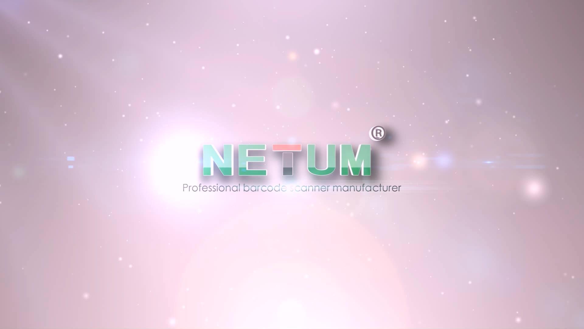 NETUM Finger Bluetooth Barcode Scanner Wireless for Logistics and Warehousing