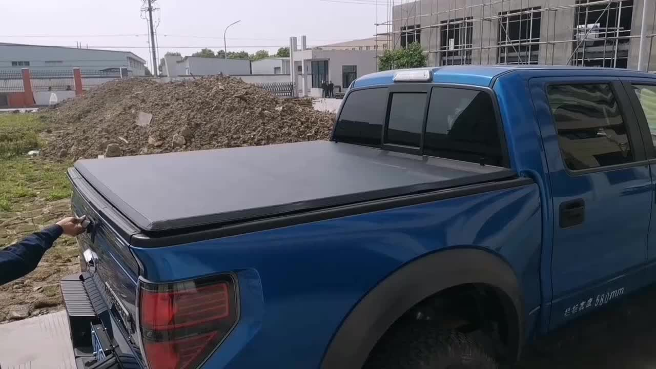 soft Tri-fold  Tonneau Cover  F150 6.5' for 04-19 6.5'  truck bed