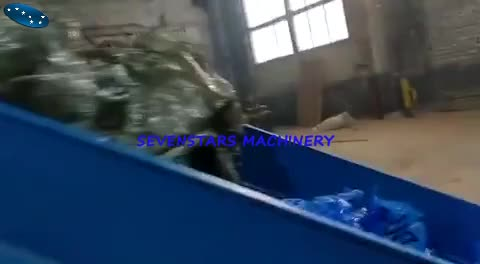 PE LDPE film compactor water ring pelletizing machine from zhangjiagang Sevenstars