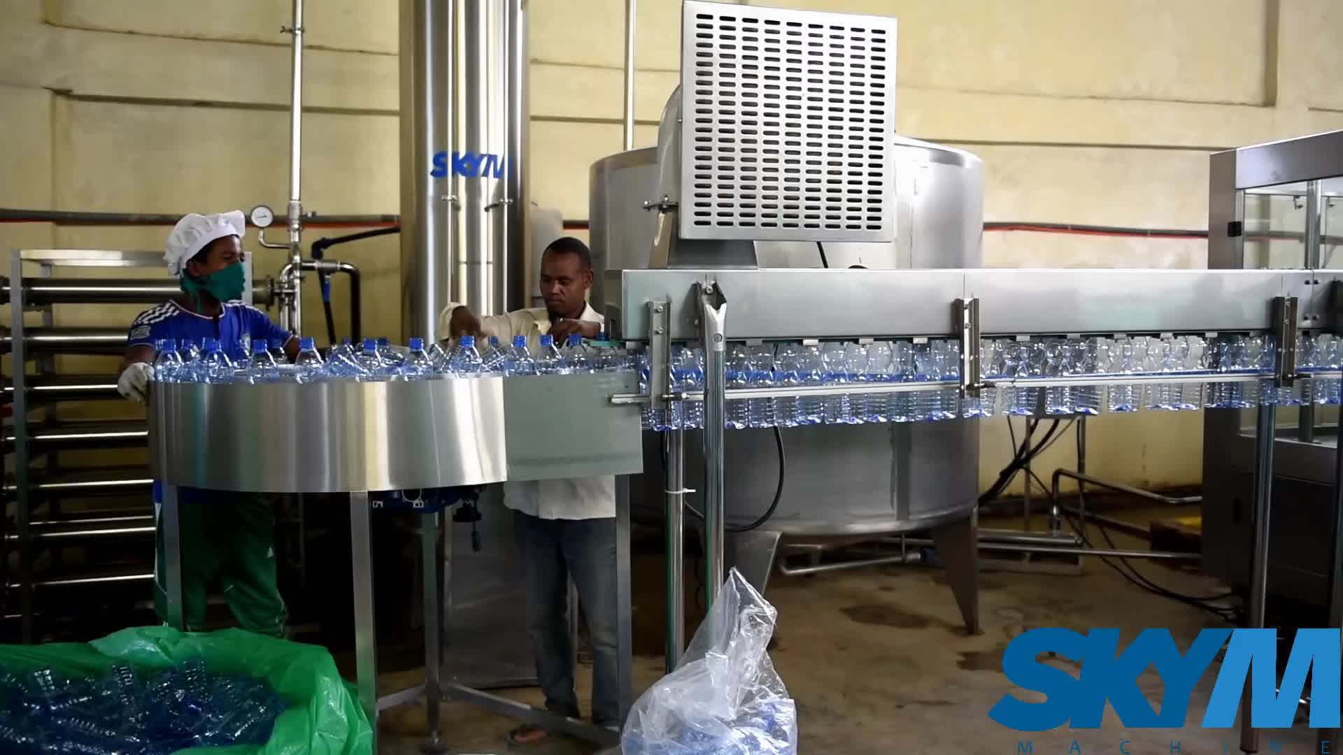 Reliable Stable Operation Fully-automatic Soft drink filling machine juice making machine