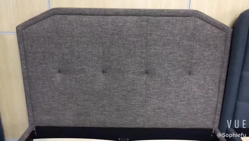 Cavill Fabric Upholstered Ottoman Bed Frame Fabric Tv Beds