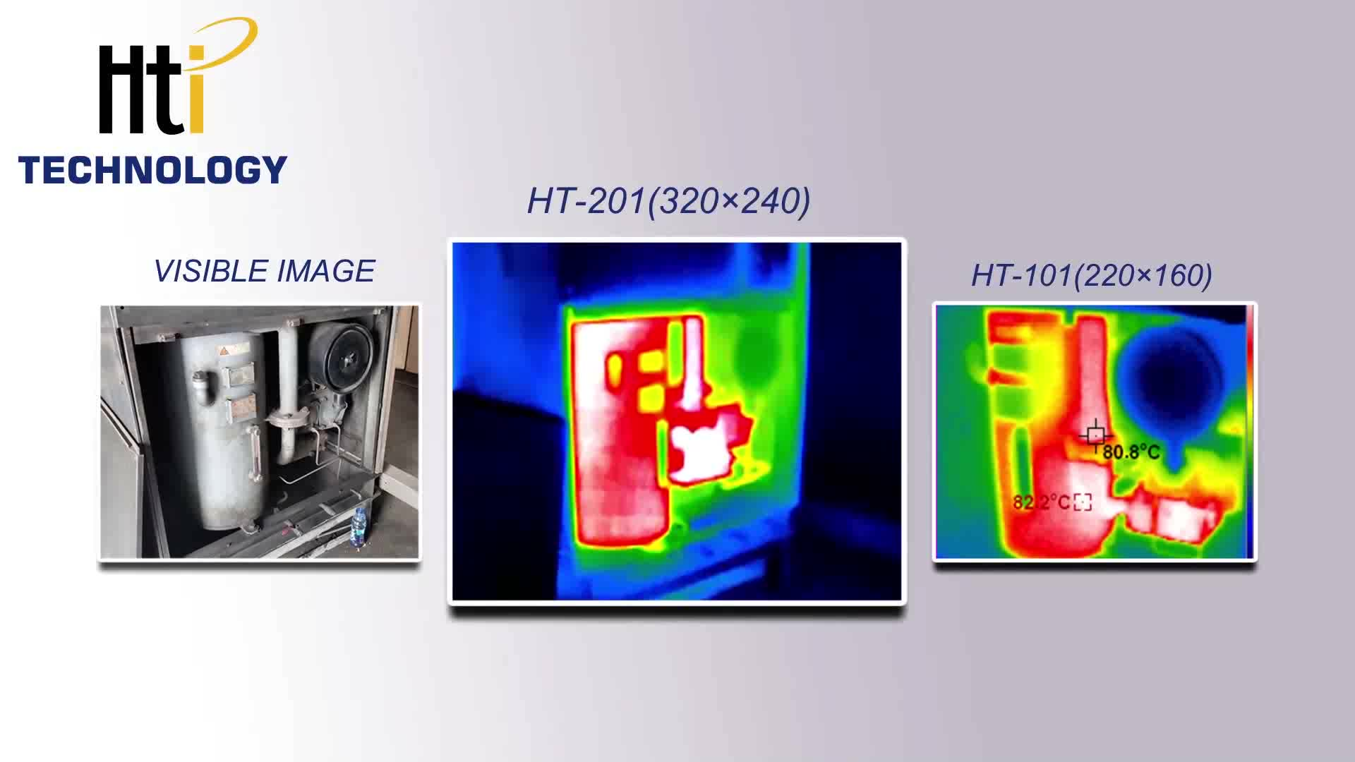 HTI 320 *240 Cellphone Thermal Imaging Camera Optics Heat IR , HT-201 infrared imager for mobile phone