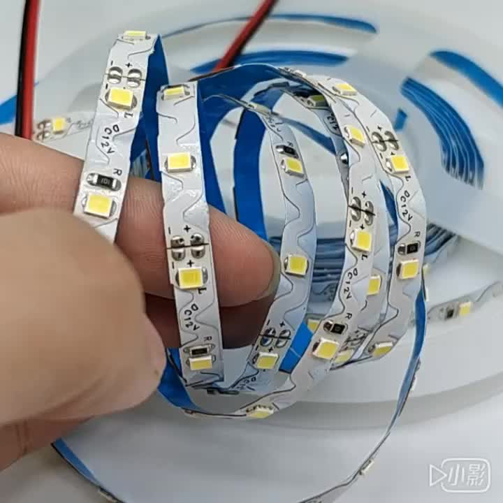 foldable/flexible S shape 12w/m nonwaterproof led strip S type 2835 led strip ip68 bendable with CE ROHS