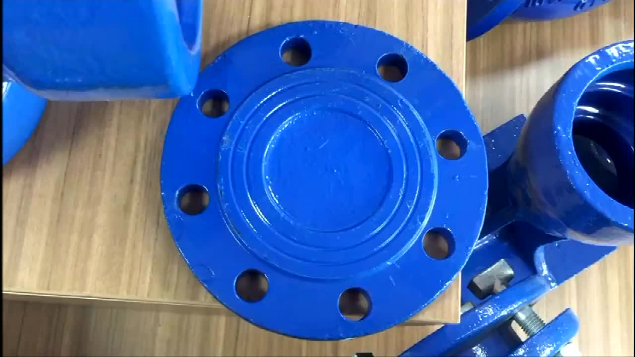 ISO2531,ENN545,EN598,BS4772 Ductile Iron Epoxy Coating DI Blind Flange Blank Flange for Ductile Iron Pipe