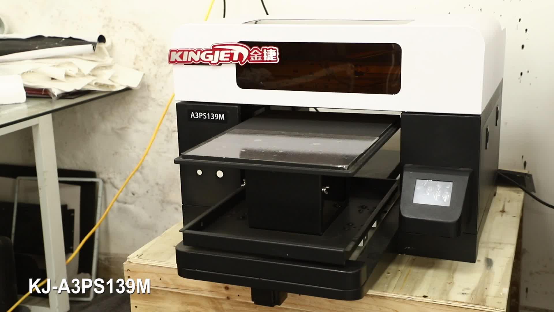 A2 A3 A4 DTG เครื่องพิมพ์ Direct TO Garment เครื่องพิมพ์อัตโนมัติดิจิตอล T เสื้อพิมพ์