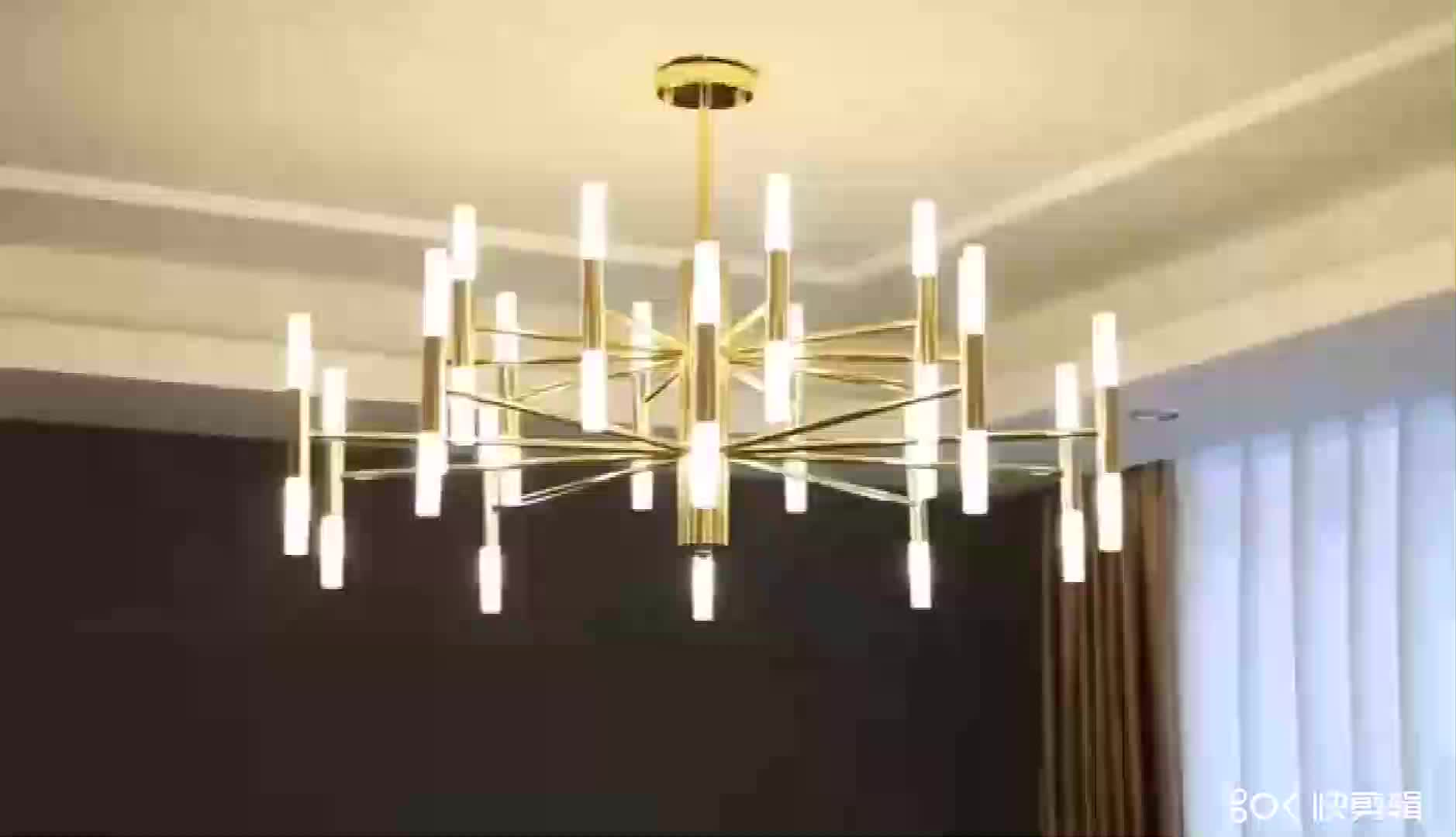 popular unique LED chandelier for home decoration