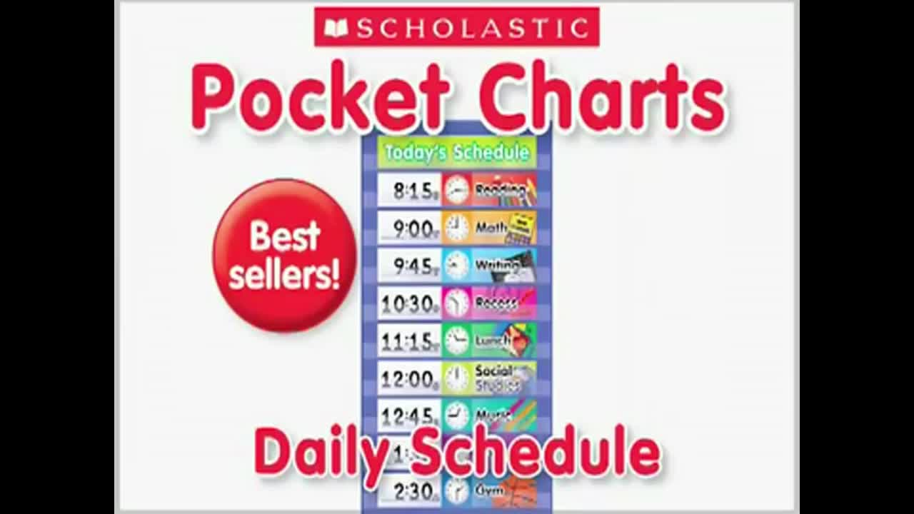 Learning Resources Calendar Weather Pocket Chart for Classroom Organization
