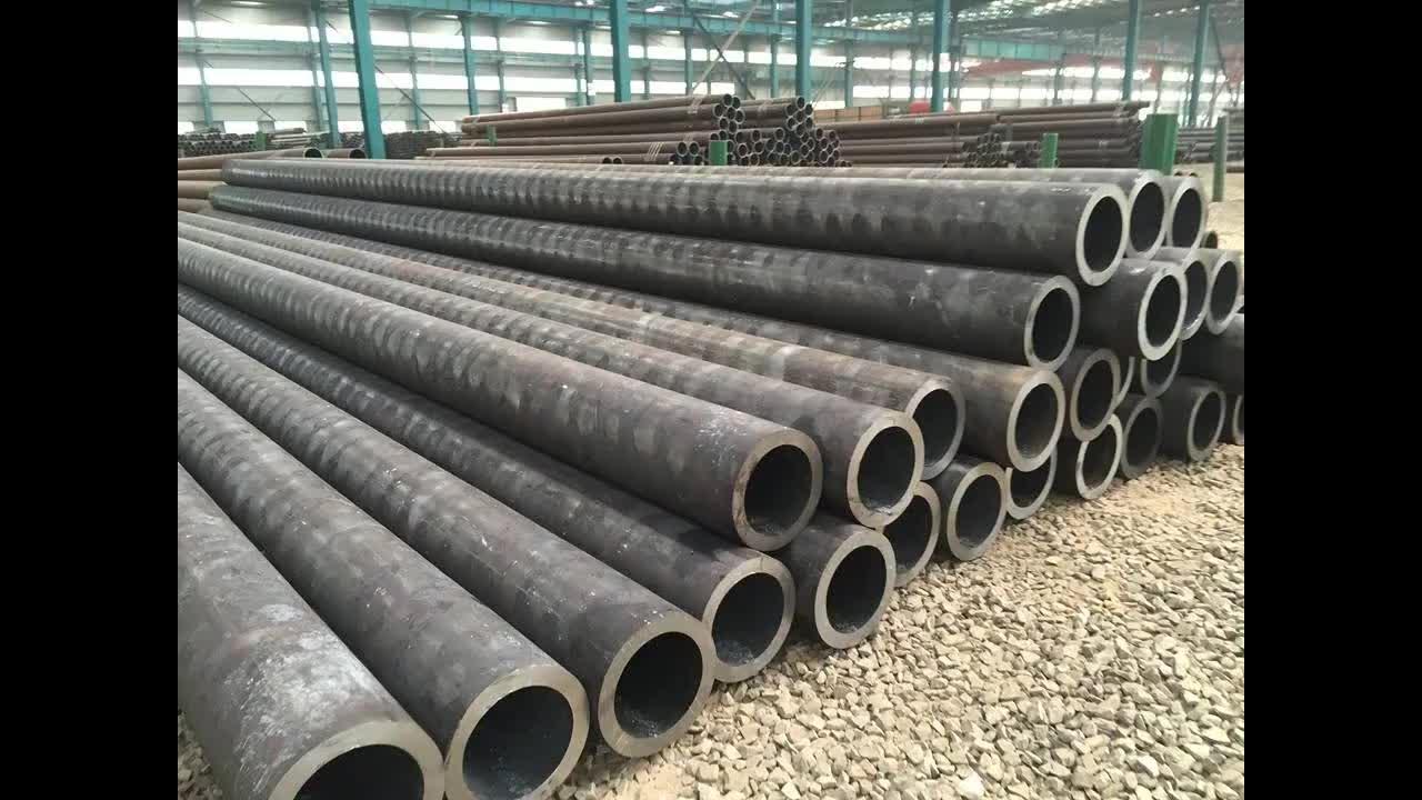 Lịch trình 40 ống thép carbon Màu Đen vòng thép hàn