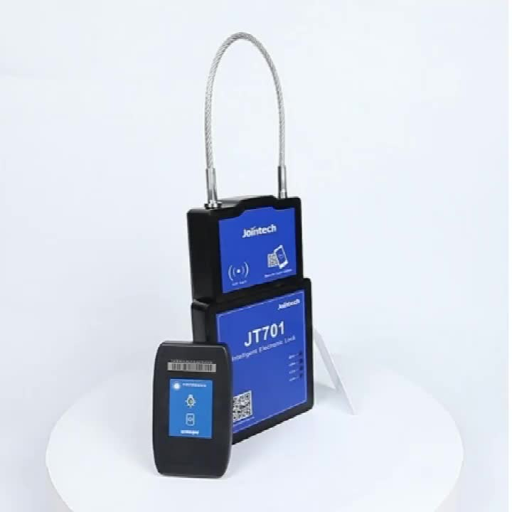 Container GPS lock JT701 to lock/unlock by RFID in spot and remotely by SMS/GPRS
