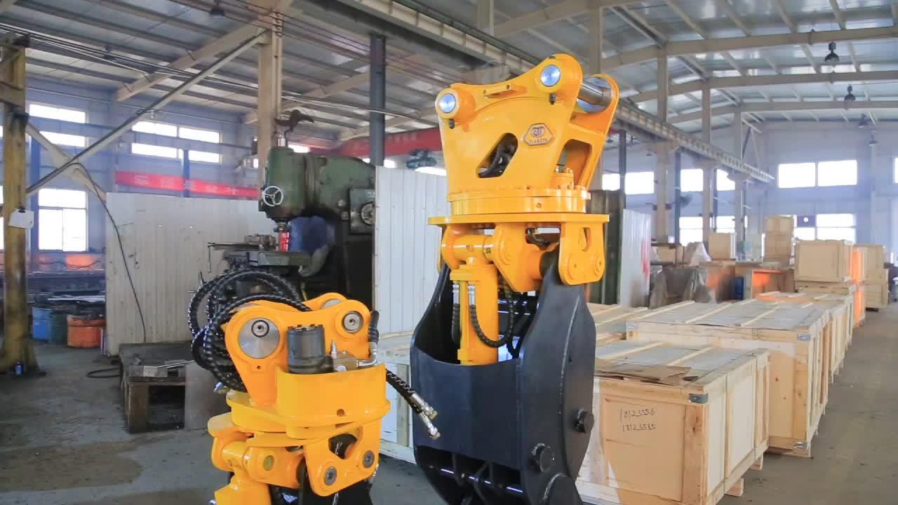 Graafmachine Onderdelen Bouwmachines Onderdelen Heavy Duty Stone Grapple voor Verkoop