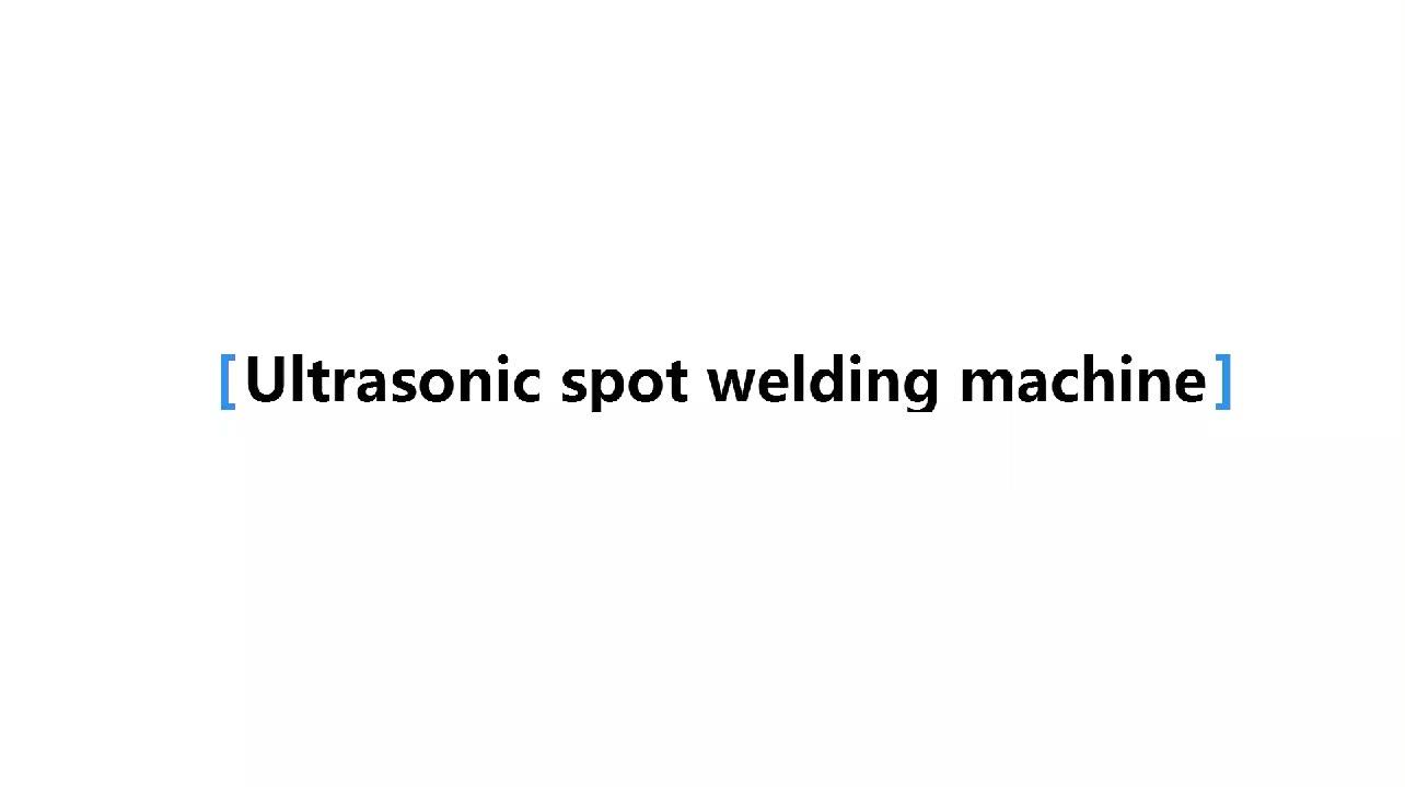 Non Woven Face Mazk Point Welding Machine