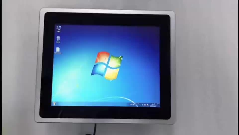 Ip65完全密閉アルミニウムalloy15 17 19インチ産業タブレットタッチスクリーンandroidパネルpc小売/注文/支払い/キオスク