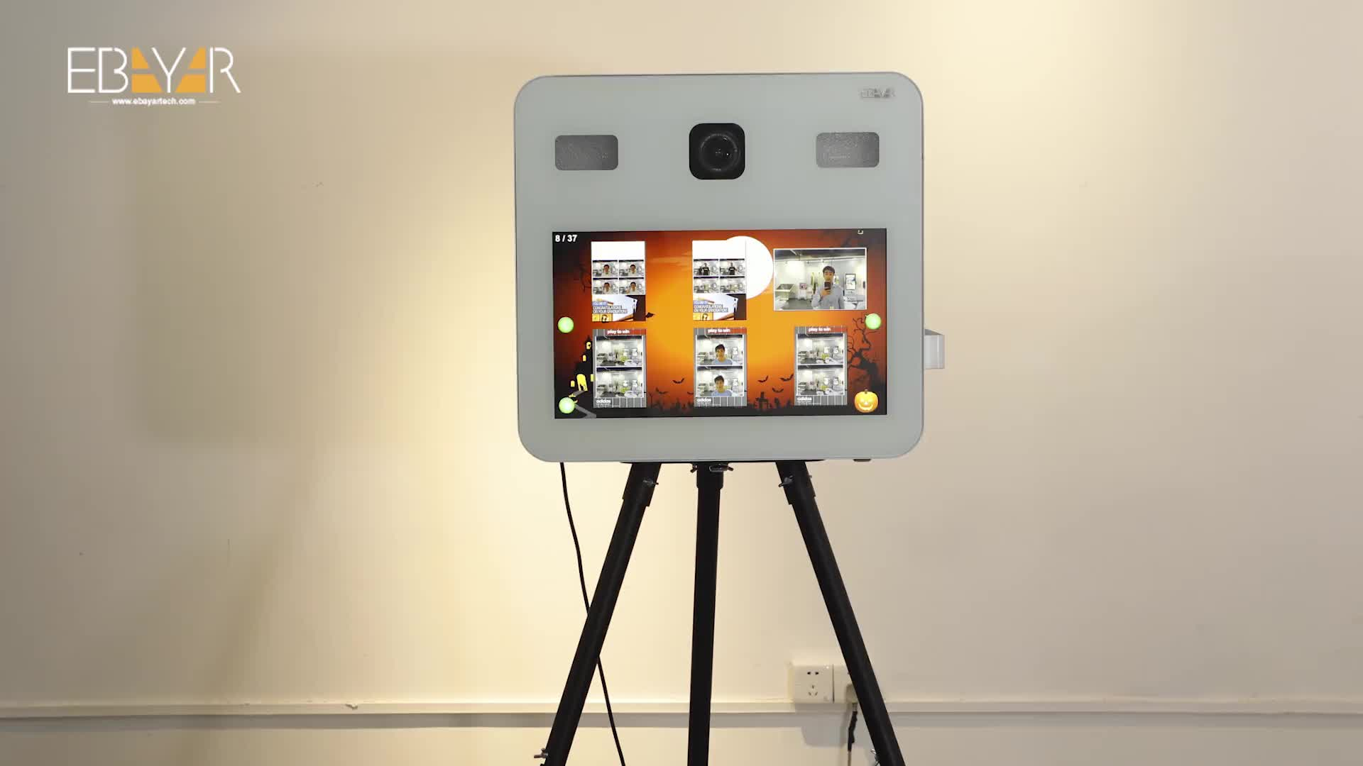 Cheap Price Photo Booth FotoMaton Open Air Machine Kiosk With Camera Installed