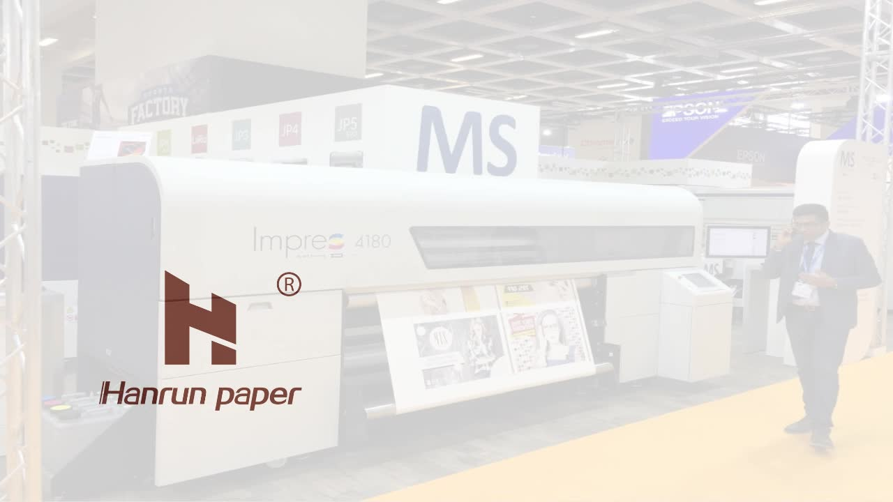 500m /1000m Length 45gsm Fast dry sublimation transfer paper roll for REGGIANI Printer