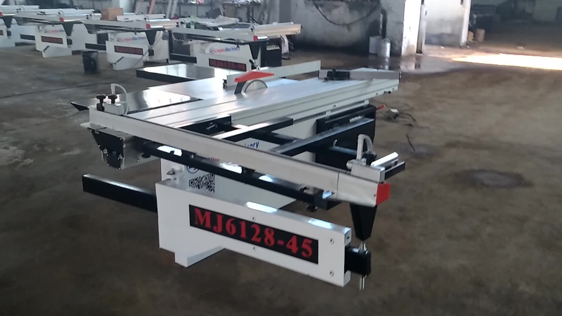 MJ6128-45H Sliding Table Panel Saw in Woodworking Machinery