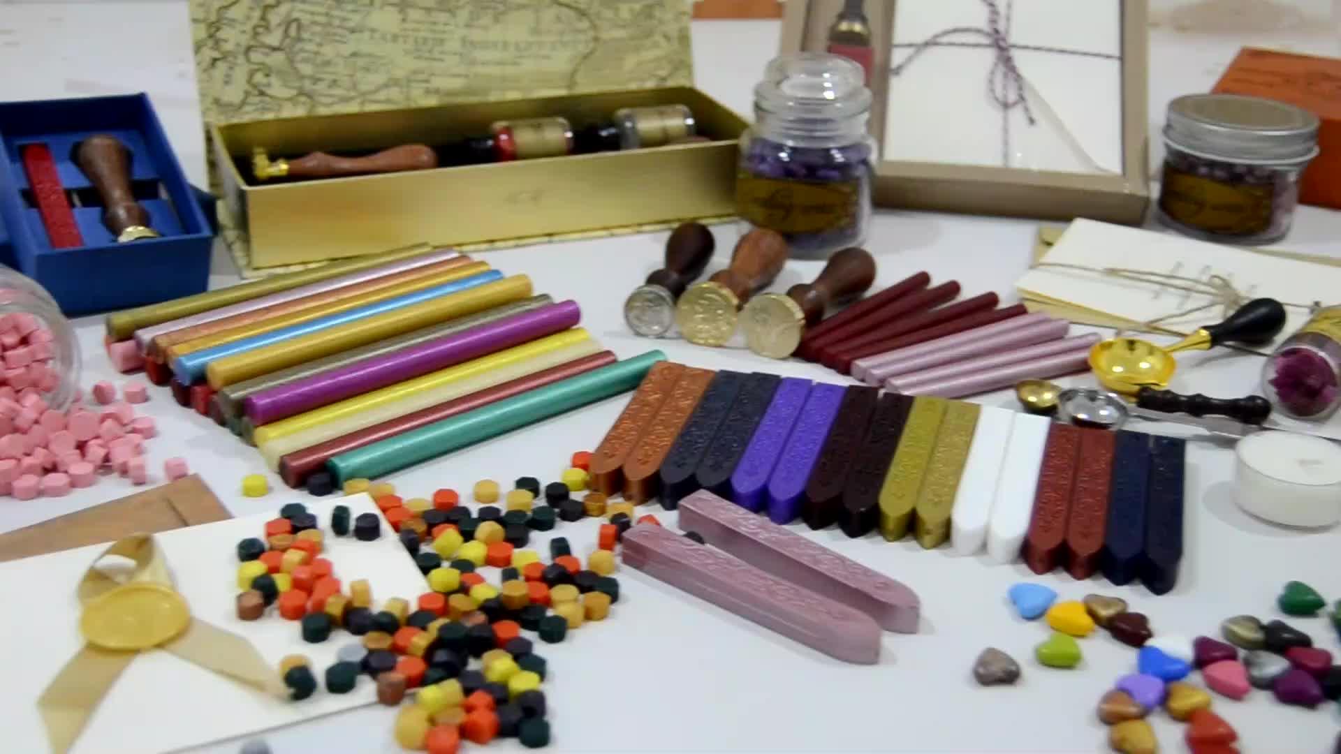 Classic Gold Flexible Sealing Wax/traditional Sealing Wax sticks