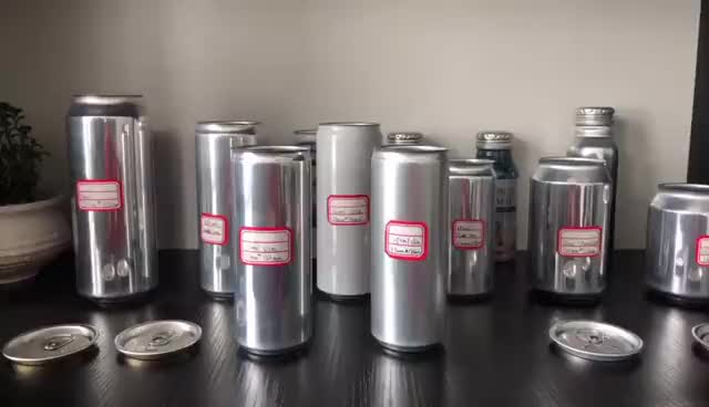 250 ml round beverage packing 2 piece aluminium cans tin slim soda can