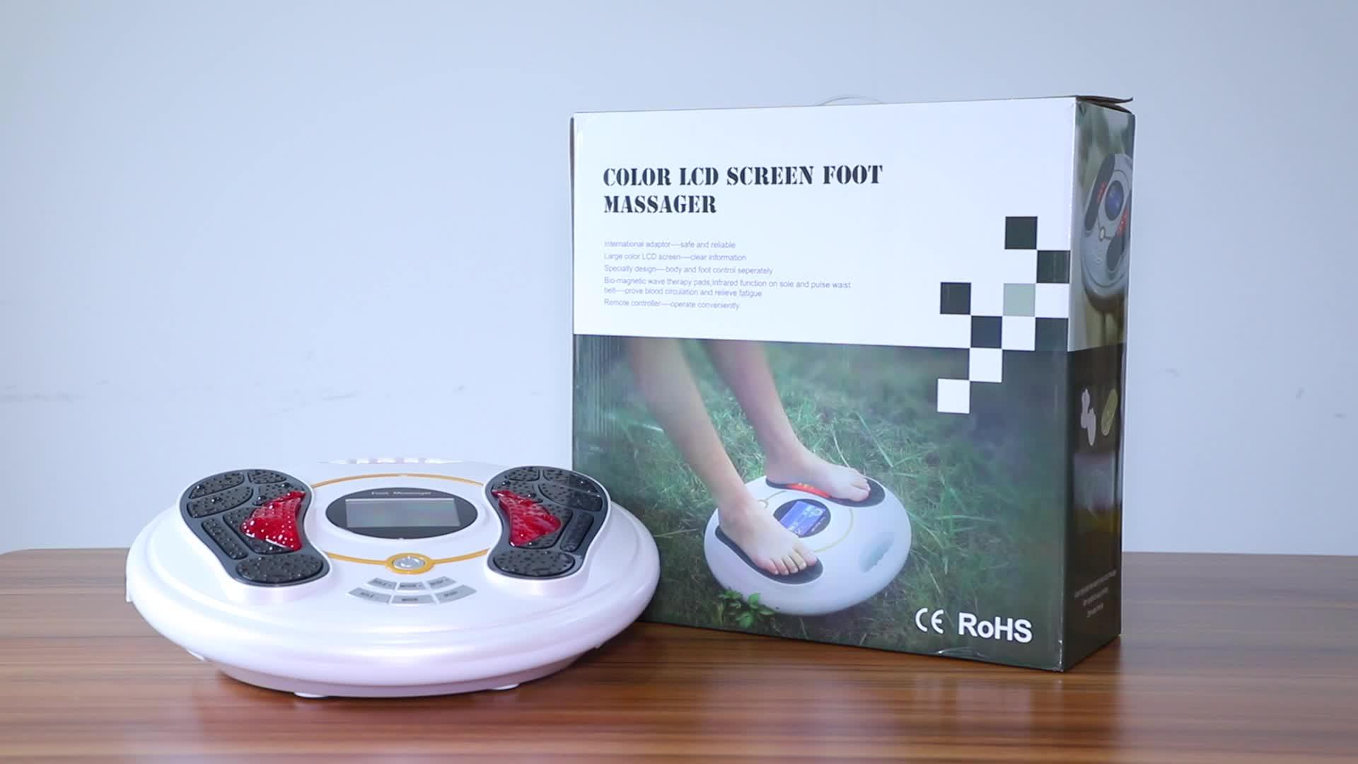 풀 몸 care 보건부 (health 전기 발 마사지 machine/발 spa massager