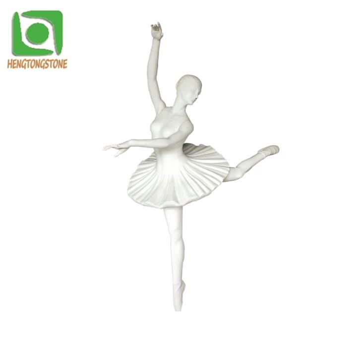 Customized Marble Modern Statue Vivid Dancing Ballet Girl Statue