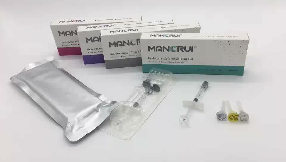 1 ml Subskin hyaluronic acid/filler HA เจล derm fillers
