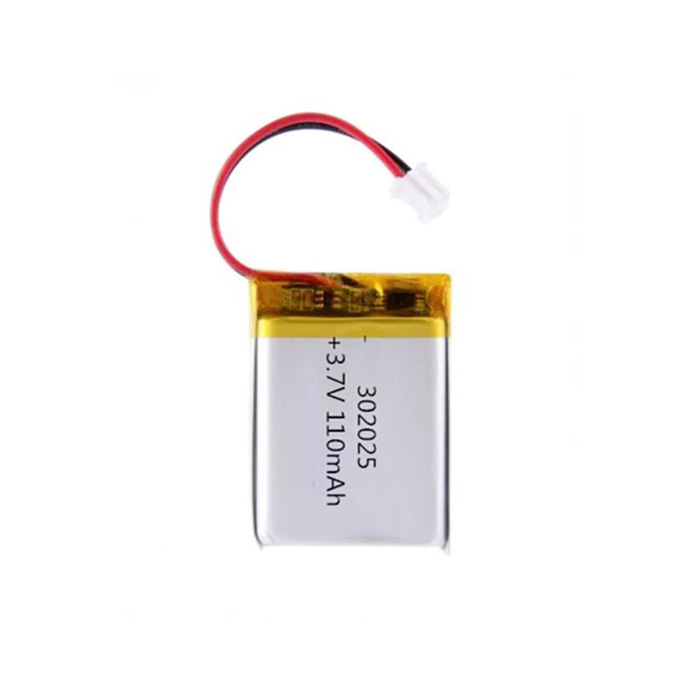 high quality rechargeable batteries 302025 3.7v 110mah li-ion polymer battery
